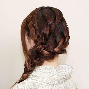 カジュアルヘアセット Photo1