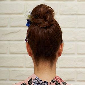 カジュアルヘアセット Photo3