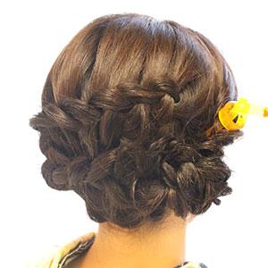 カジュアルヘアセット Photo4