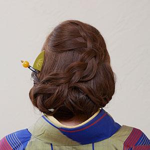 アレンジヘアセット Photo2
