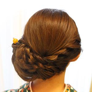 アレンジヘアセット Photo4